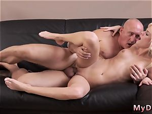 Real first-timer parent crony s daughter-in-law very first time insatiable platinum-blonde wants to try someone lil bit