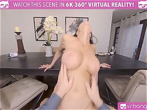 VRBangers stunning Kendra lust Anniversary gift hook-up Session