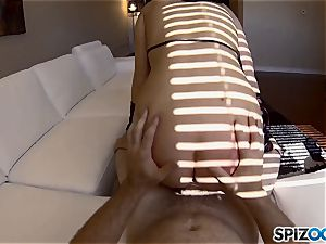 PornGoesPro - Maddy O'Reilly is penalized by a phat spear