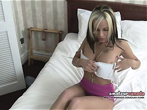 skinny french Canadian babe homemade porno frigs poon