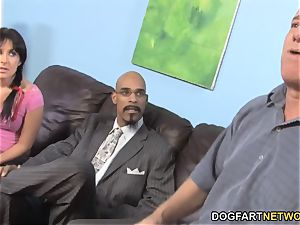 daddy Has To witness Her daughter Chelsie Rae bangs A big black cock