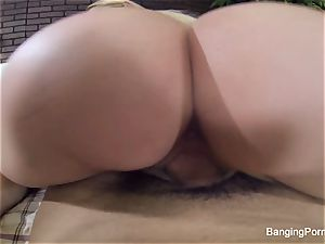 Vanessa's rock hard pov poking