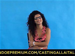casting ALLA ITALIANA - Romanian nymphomaniac culo fucked