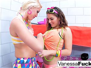 Vanessa and Natasha lezzy jail